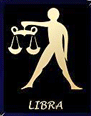 Image shows Libra the scales
